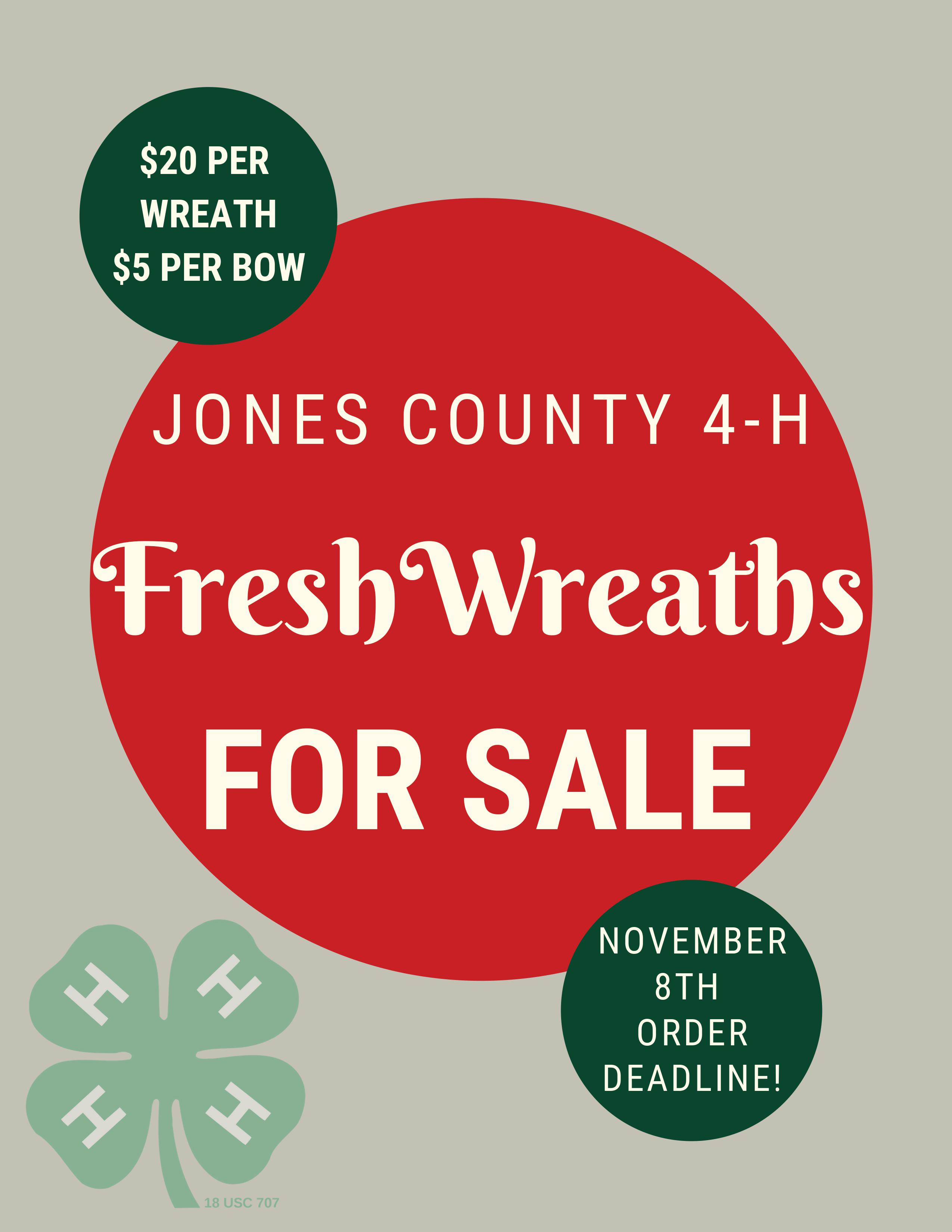 Wreath sale flyer 1 image