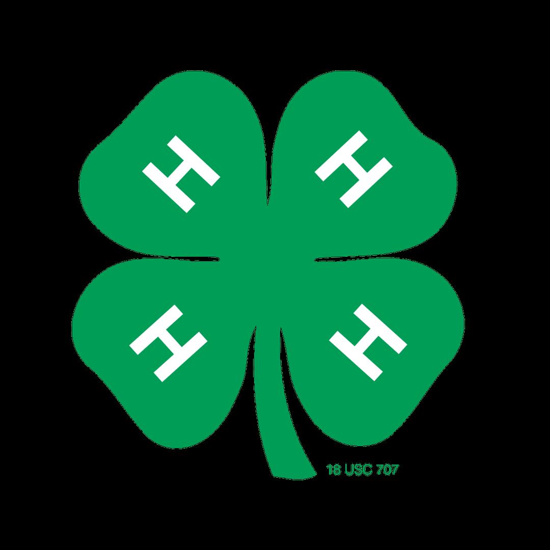 Official 4-H Clover logo